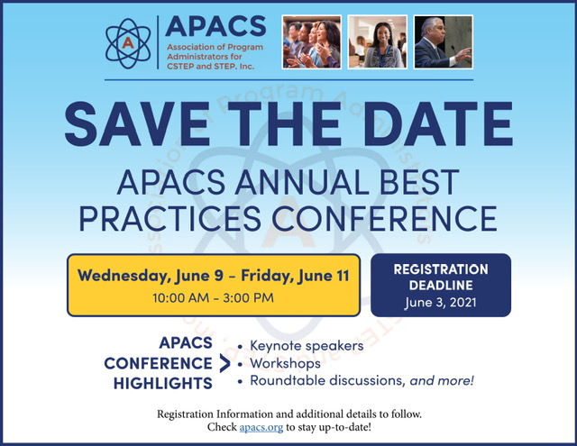 APACS Best Practices 2021 - Save the Date